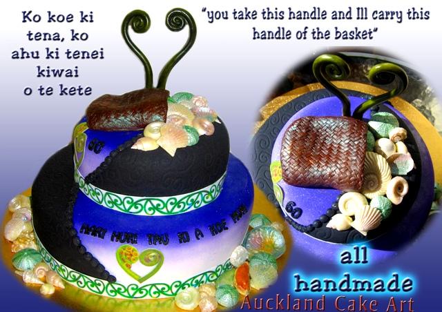 O TE KETE Maori birthday cake new zealand O TE KETE gorgeo Flickr