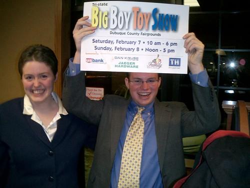 Big Boy Toy Show : Big boy toy show best mock trial photo posing with the