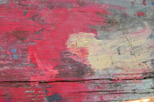 Red Painted wood texture | by Abby Lanes