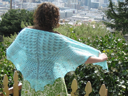 Bee Fields Shawl | by robinkziegler