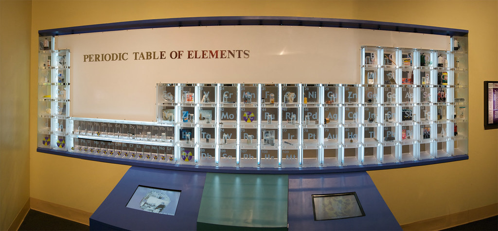 Periodic Table 6 Shot Panoramic Of The Real Life Periodi Flickr