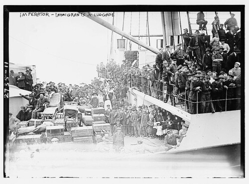 IMPERATOR - Immigrants & luggage  (LOC) | by The Library of Congress