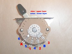 Genuine Fender 5-way Switch (2 Layers) for Stratocaster gu… | Flickr