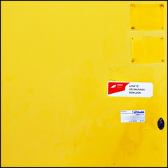 What's behind the yellow door? | by Maerten Prins
