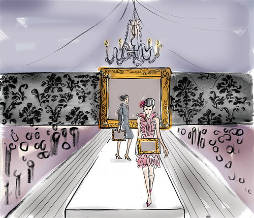 Fashion Show Concept Drawing | by The Old State