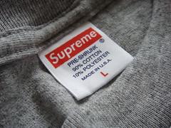 supreme size label sold won flickr