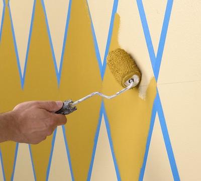 ScotchBlue Painting Tips   Diamond Pattern   Painting   by ScotchBlue. ScotchBlue Painting Tips   Diamond Pattern   Painting   Flickr