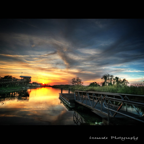 ~HDR~ MICCOSUKEE INDIAN RESERVATION - EVERGLADES PARKWAY LEVEE. SOUTH FLORIDA | by Leonardo Riano