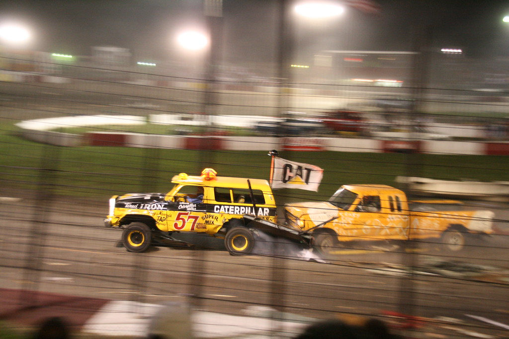 The world famous Figure 8 Trailer Race at the Rockford Spe… | Flickr