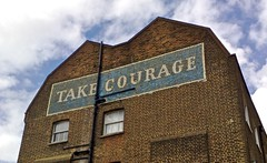 Take Courage | by geese