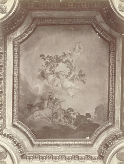 Fontainebleau Palace. Ceiling painting by François Boucher. | by Cornell University Library