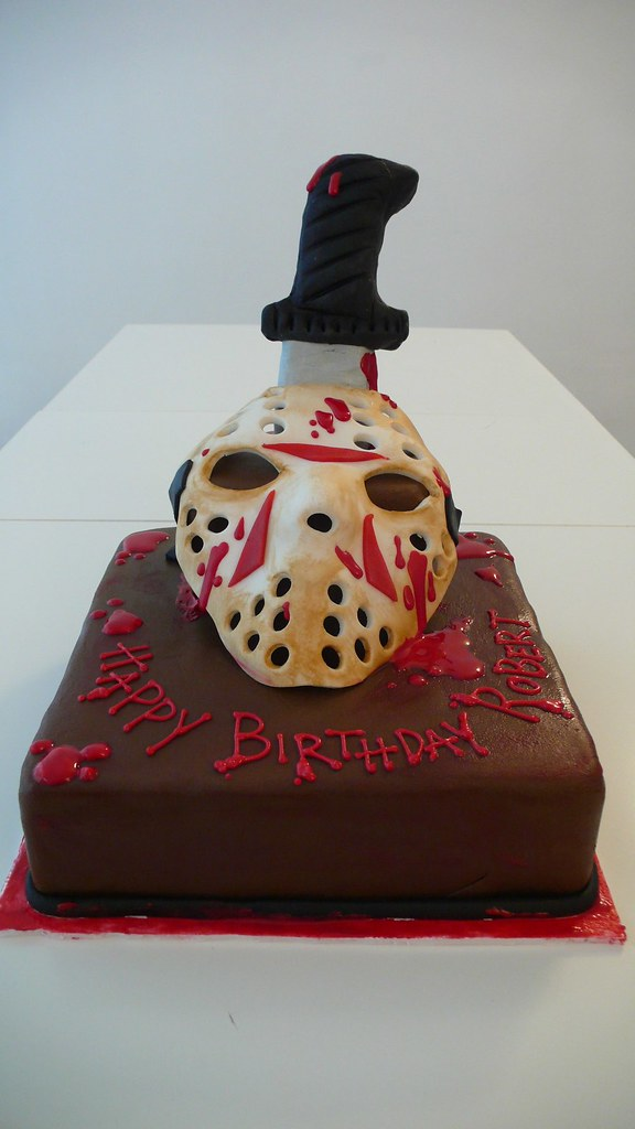 Friday The 13th Cake Friday The 13th Cake Made For A Frida Flickr
