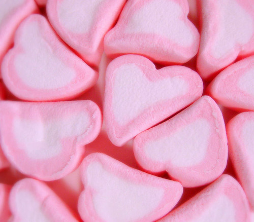 Pink Heart Marshmallows | by lookie.lew