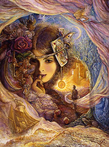 Serendipity by josephine wall artwork by josephine wall flickr serendipity by josephine wall by fantasy art voltagebd