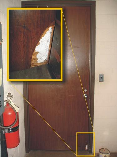 Asbestos Fire Rated Door Example Of A Fire Rated Door