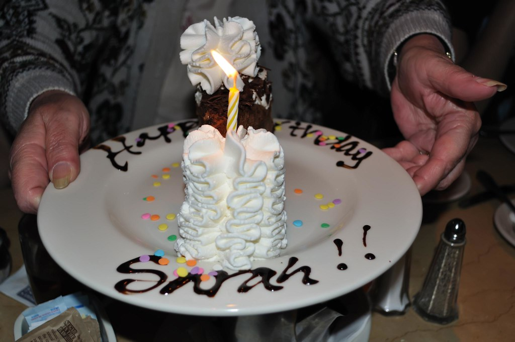 Happy Birthday Sarah Cheesecake Factory Style Today saw m Flickr