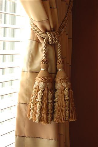 Custom Large Drapery Tassel Tie Backs Tassels Are A Great Flickr