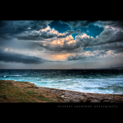 Stormy Beach HDR | by Michael Speelman