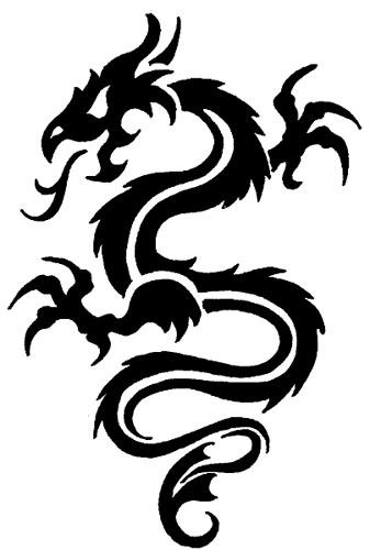 Simple Dragon Tribal Tattoo Designs 93260 Movieweb