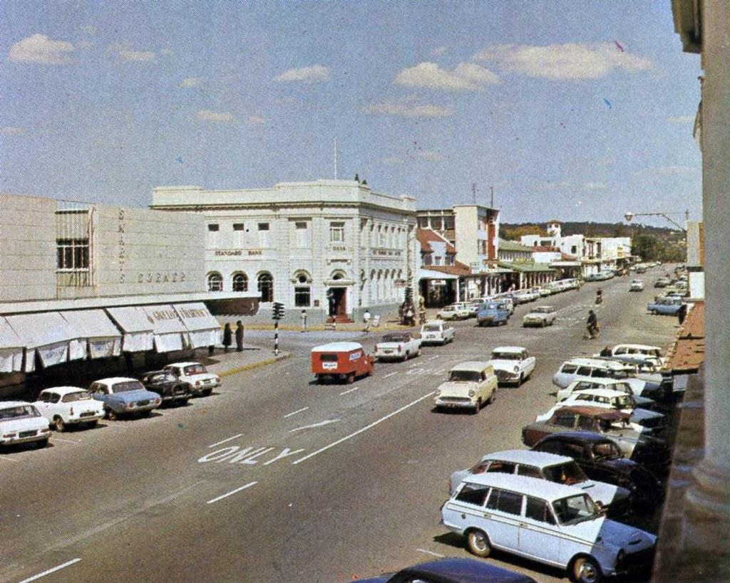 Rhodesia Gwelo now Zimbabwe Gweru city centre 1960s Flickr