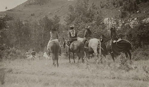 Untitled (Native Americans on horseback) | by Museum of Photographic Arts Collections