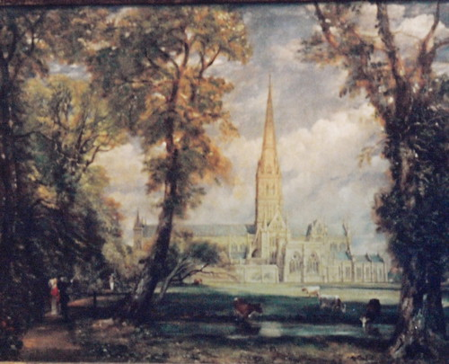 "Constable's ""Salisbury Cathedral,"" Metropolitan Museum 