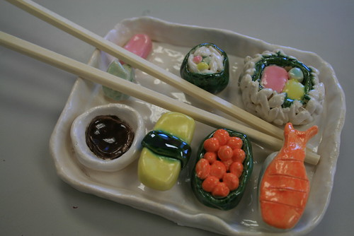 Clay Sushi. | by S4RA!