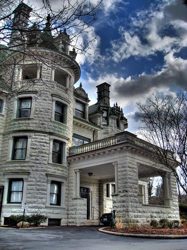 Middletown Ny: Morrison Hall Aka The Webb Horton Mansion