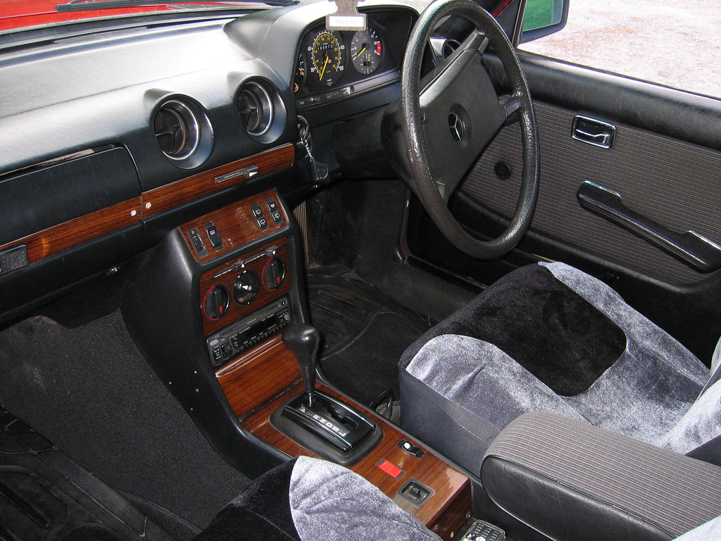1984 Mercedes W123 Estate Interior | philbear | Flickr