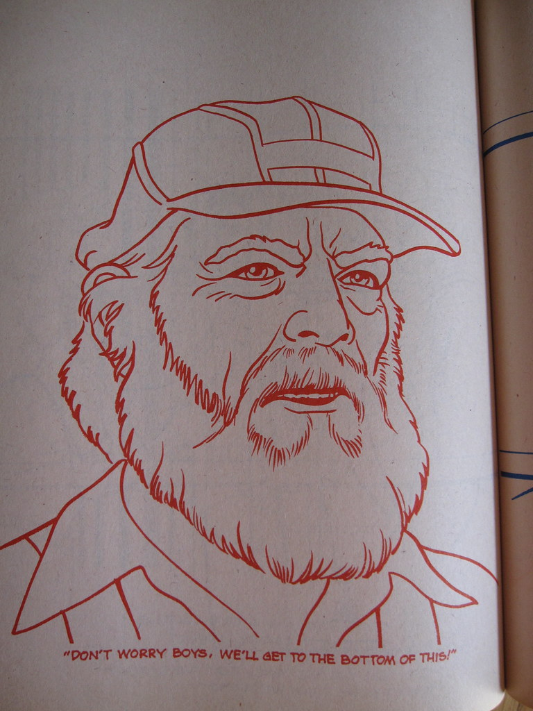 Dukes of Hazzard Coloring Book | You can tell the artist act… | Flickr