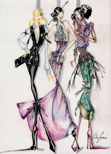 Fashion Illustration by Julien Fournie | by fashionreporters
