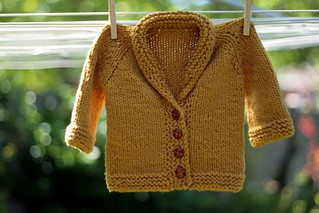 organic cotton baby sweater | by postscript love