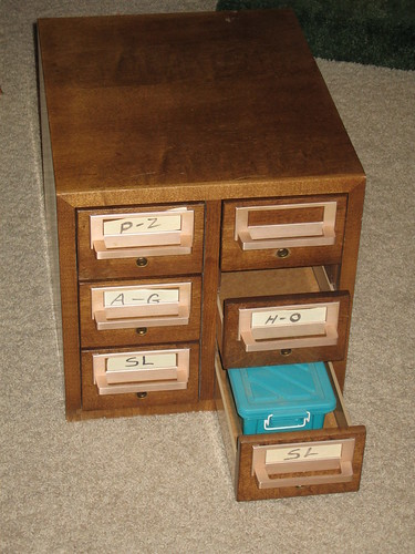 Card Catalog Conversion - Done | by WillWinder