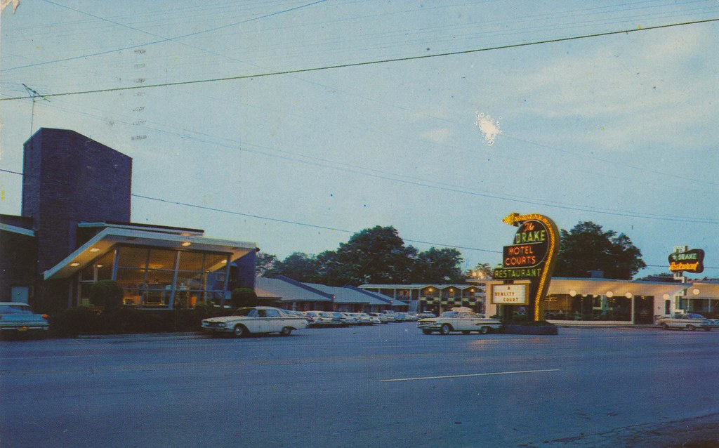 The Drake Motel & Restaurant - Chattanooga, Tennessee