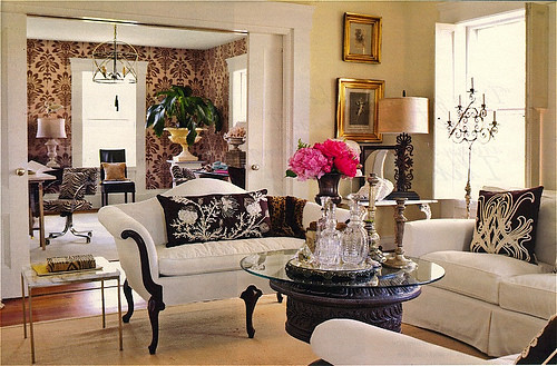 Romantic living room romantic living room detail visit for Family room photo gallery