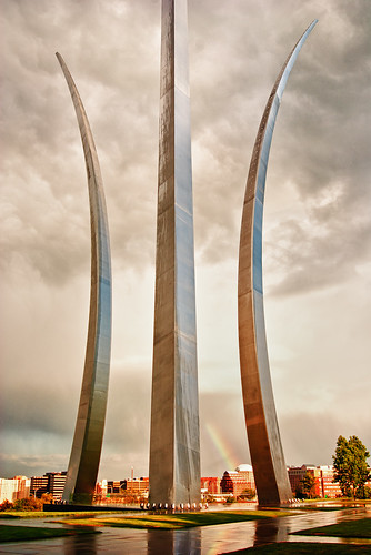 Air Force Memorial | by Luvin' the light