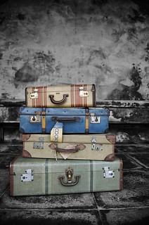 Vintage Luggage Parmiters Antiques Southsea Redux | by geishaboy500