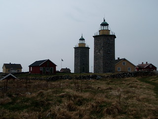 The old lighthouses of Nidingen | by Kayak Varberg