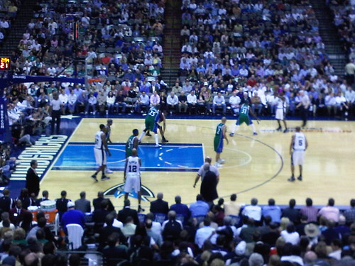 San Antonio Spurs at Dallas Mavericks - American Airlines Center 018 | by dennis_p