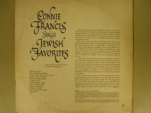 Connie Francis Sings The All Time International Hits