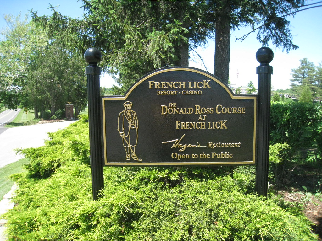 Donald ross course french lick in you