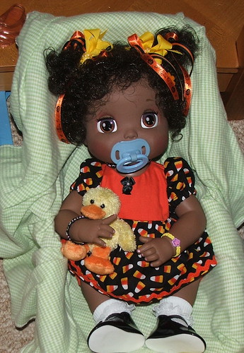 Hasbro Baby Alive Animated African American Doll