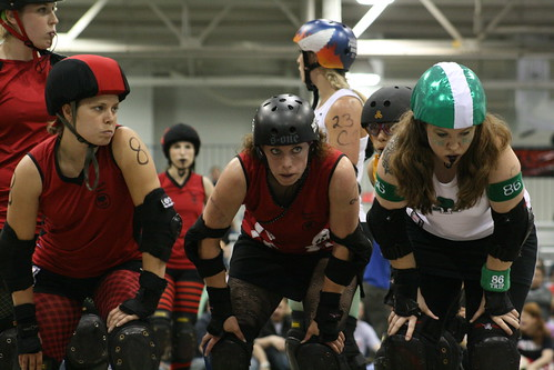 Ohio Roller Girls Vs. Naptown | by MeltCupid