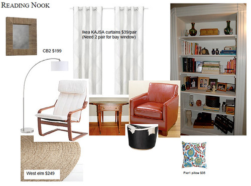 Create Cozy Reading Area Living Room