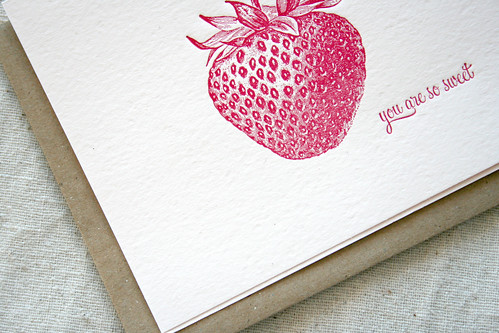 sweet letterpress | by Sarah Parrott