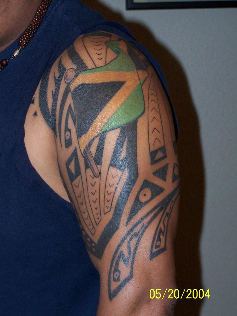 jamaican tattoo jamaican tribal tattoo oc thomas flickr rh flickr com jamaican tattoos pinterest jamaican tattoos gallery