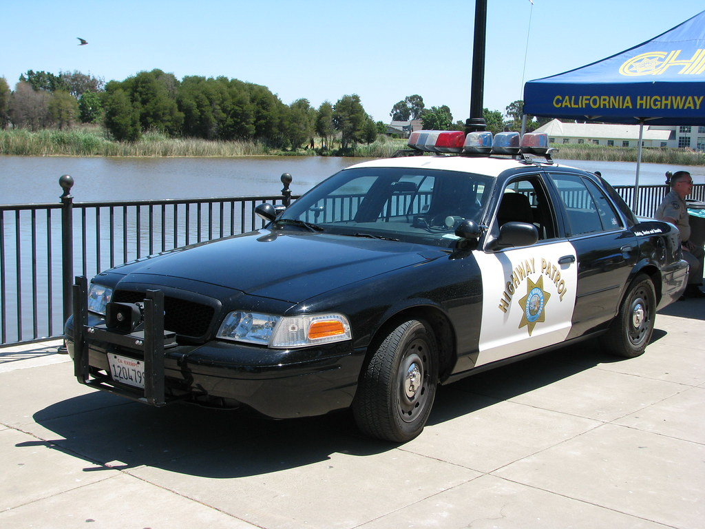 Ford Crown Victoria California Highway Patrol Car  By Jack Snell Thanks