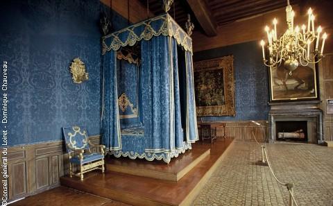 Ch teau de sully sur loire chambre royale galeries - Chambre d hotes sully sur loire ...