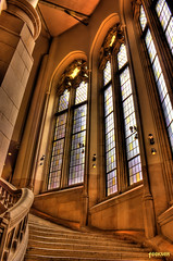 Suzzallo Library Staircase HDR | by Mike Fiechtner