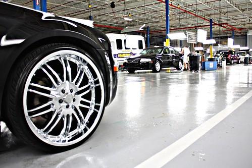Chrysler 300 White >> Black Chrysler 300 C 24 Inch Rims | Black Chrysler 300C with… | Flickr